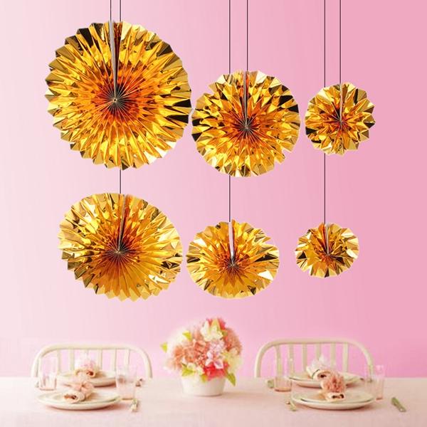 6-piezas-set-ventilador-de-papel-flor-Europea-estilo-fiesta-decoracion-Y8E2 miniatura 4