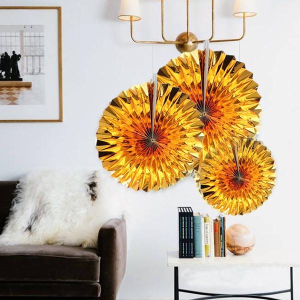 6-piezas-set-ventilador-de-papel-flor-Europea-estilo-fiesta-decoracion-Y8E2 miniatura 5