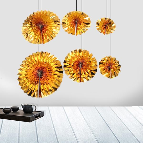 6-piezas-set-ventilador-de-papel-flor-Europea-estilo-fiesta-decoracion-Y8E2 miniatura 6