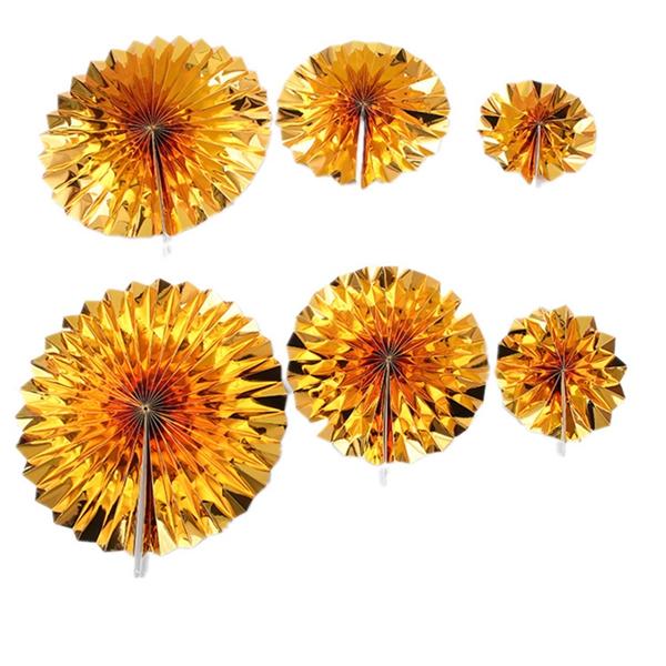6-piezas-set-ventilador-de-papel-flor-Europea-estilo-fiesta-decoracion-Y8E2 miniatura 7