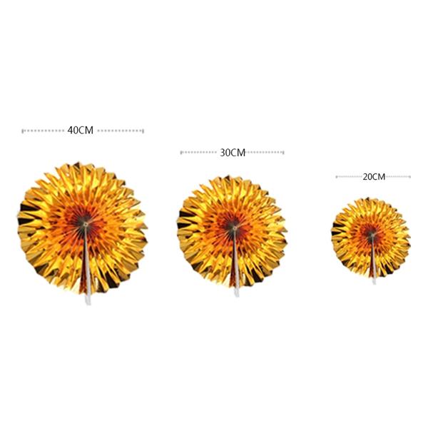 6-piezas-set-ventilador-de-papel-flor-Europea-estilo-fiesta-decoracion-Y8E2 miniatura 8
