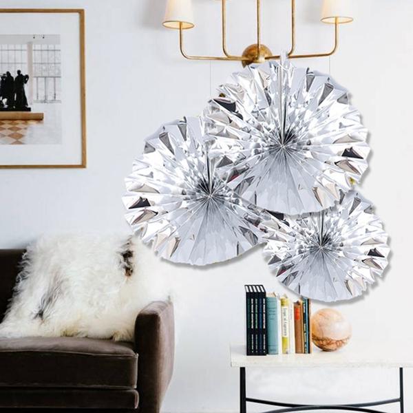6-piezas-set-ventilador-de-papel-flor-Europea-estilo-fiesta-decoracion-Y8E2 miniatura 12