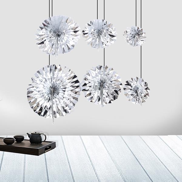 6-piezas-set-ventilador-de-papel-flor-Europea-estilo-fiesta-decoracion-Y8E2 miniatura 14