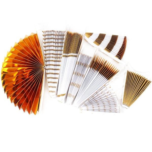 8-piezas-set-ventilador-de-papel-flor-Europea-estilo-fiesta-decoracion-W9F8 miniatura 7