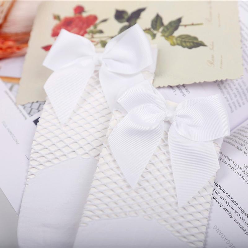 2X-Ete-Femmes-Mode-Noeud-papillon-Chaussettes-resille-Chaussette-a-mailles-X9C1 miniature 16