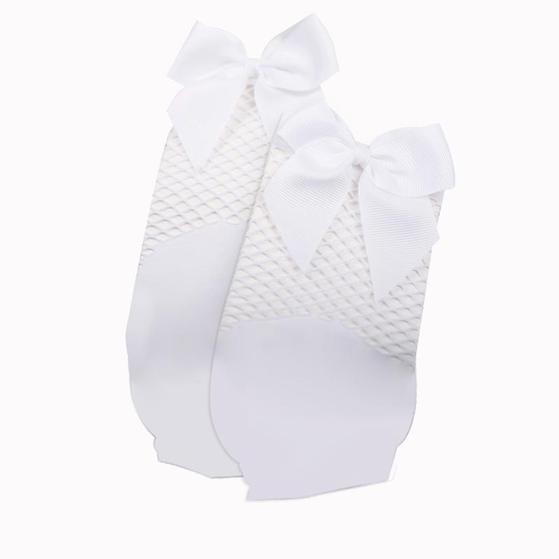 2X-Ete-Femmes-Mode-Noeud-papillon-Chaussettes-resille-Chaussette-a-mailles-X9C1 miniature 17