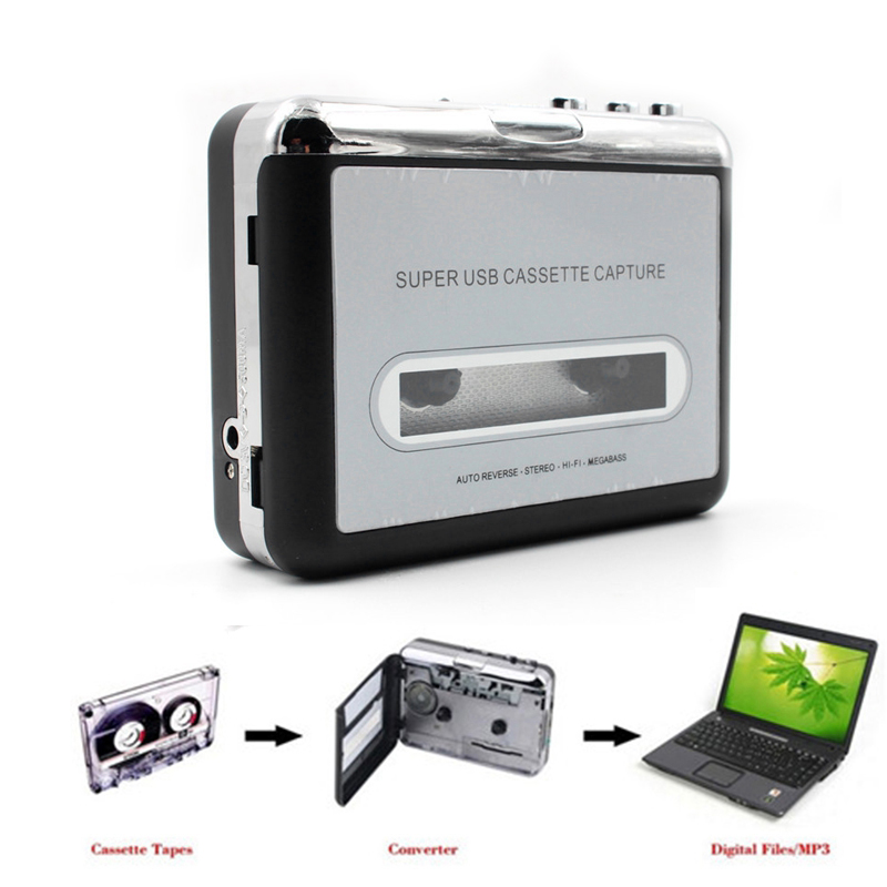 2X-Cinta-para-PC-super-USB-Cassette-a-MP3-de-captura-Reproductor-de-audio-mu-E6
