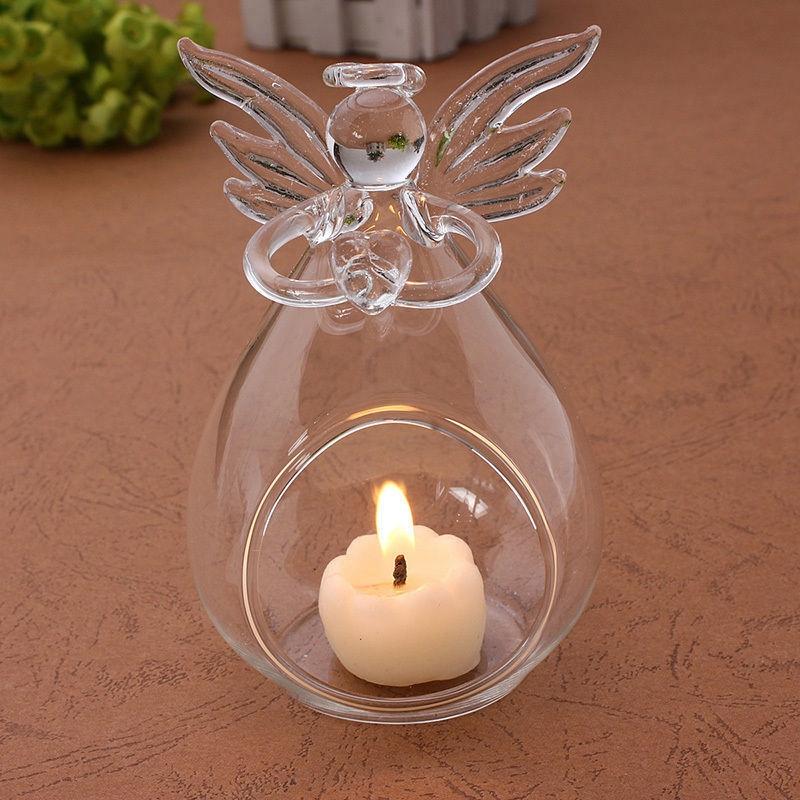 Angel-de-cristal-colgante-de-cristal-Candelero-de-luz-de-te-Decoracion-para-e-ST
