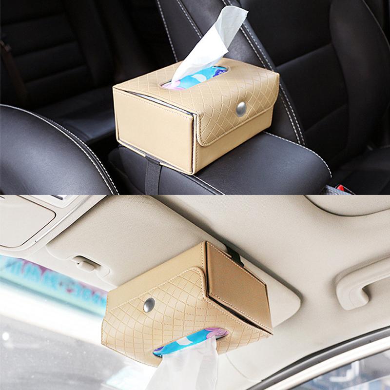 Nueva-caja-con-hebilla-de-correa-de-tejido-plegable-portatil-de-cuero-de-E5Q3 miniatura 6