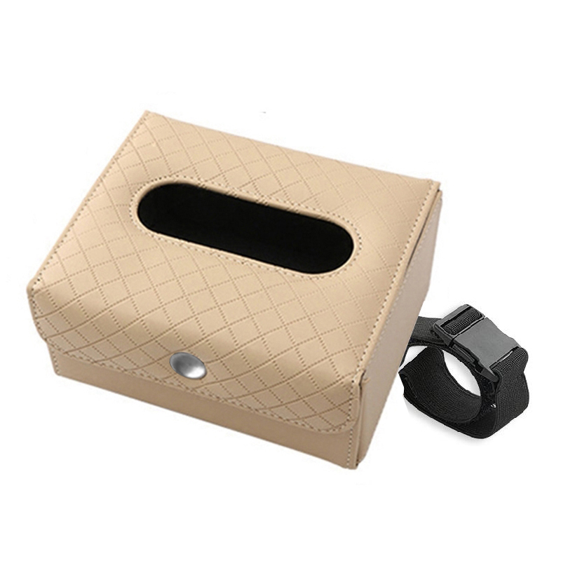 Nueva-caja-con-hebilla-de-correa-de-tejido-plegable-portatil-de-cuero-de-E5Q3 miniatura 7