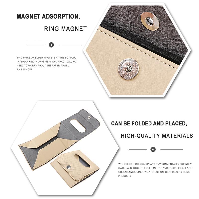 Nueva-caja-con-hebilla-de-correa-de-tejido-plegable-portatil-de-cuero-de-E5Q3 miniatura 8