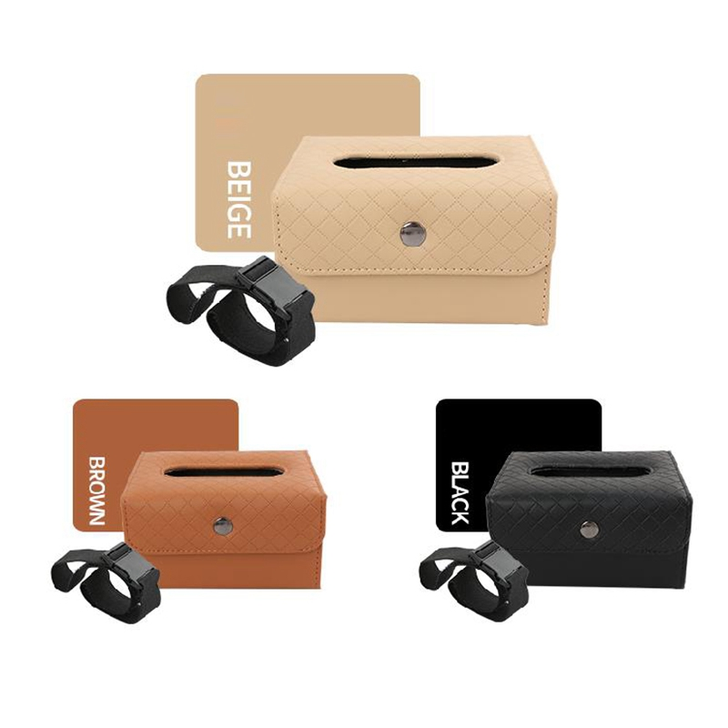 Nueva-caja-con-hebilla-de-correa-de-tejido-plegable-portatil-de-cuero-de-E5Q3 miniatura 10