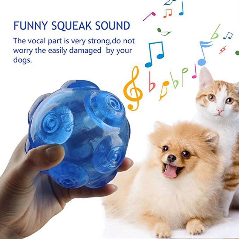 1X-mascotas-TPR-Molienda-mordedura-duradera-Bola-de-juguete-con-sonido-A9K8 miniatura 7