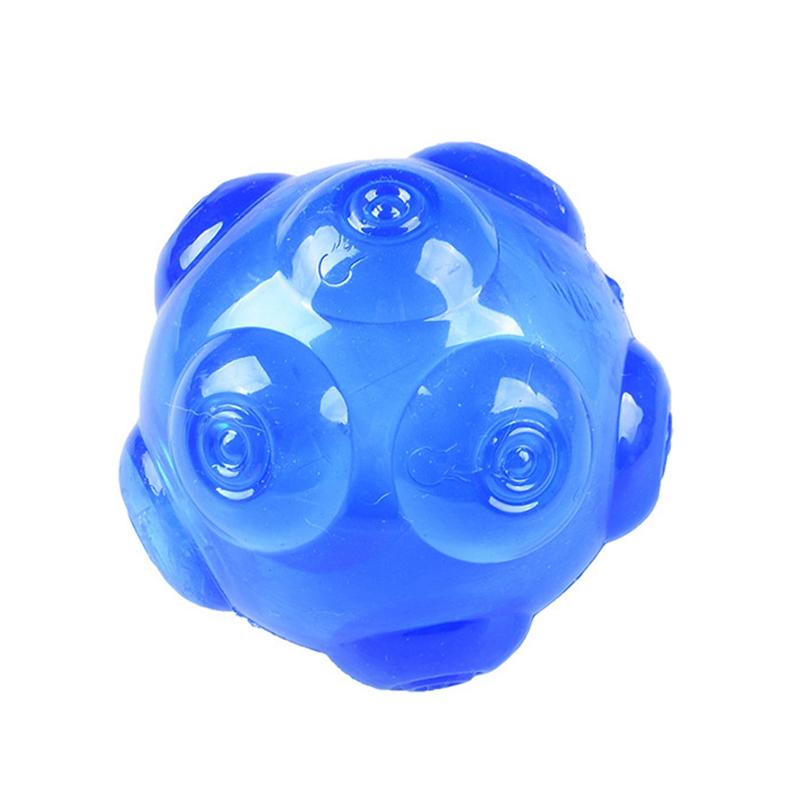 1X-mascotas-TPR-Molienda-mordedura-duradera-Bola-de-juguete-con-sonido-A9K8 miniatura 8