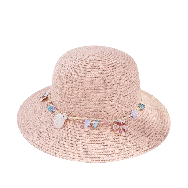shell-Summer-Hats-for-Women-Fashion-Design-Women-Beach-Sun-Hat-Foldable-Bri-I4G5 thumbnail 13