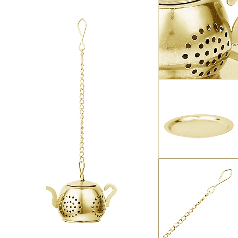 1X Strainer // Infuser // tea spoon with Squeeze handle. O7L6
