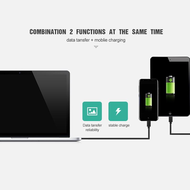3X-Cable-de-datos-USB-de-cargador-rapido-para-S8-S9-Plus-Note-8-A8-2018-G2O1 miniatura 9