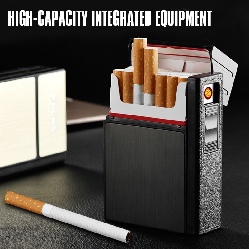 2X-Capacidad-de-20-piezas-para-cigarrillos-Caja-de-cigarrillos-de-moda-con-H9E7 miniatura 6