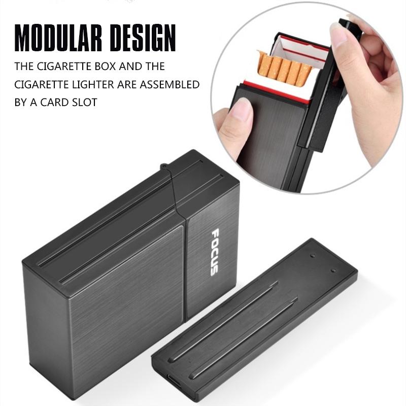 2X-Capacidad-de-20-piezas-para-cigarrillos-Caja-de-cigarrillos-de-moda-con-H9E7 miniatura 8