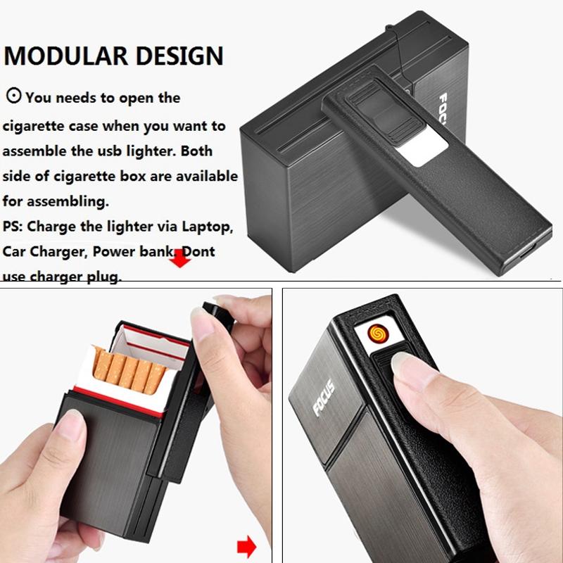 2X-Capacidad-de-20-piezas-para-cigarrillos-Caja-de-cigarrillos-de-moda-con-H9E7 miniatura 18