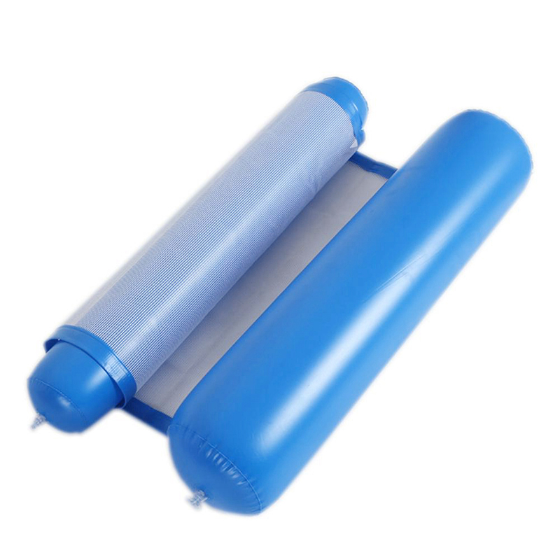 Piscine-d-039-ete-Hamac-d-039-eau-Chaise-flottante-Lit-flottant-PVC-Eau-de-baignade-SC miniature 4