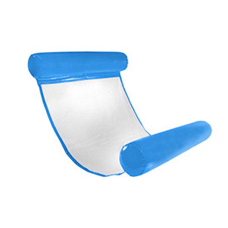 Piscine-d-039-ete-Hamac-d-039-eau-Chaise-flottante-Lit-flottant-PVC-Eau-de-baignade-SC miniature 7