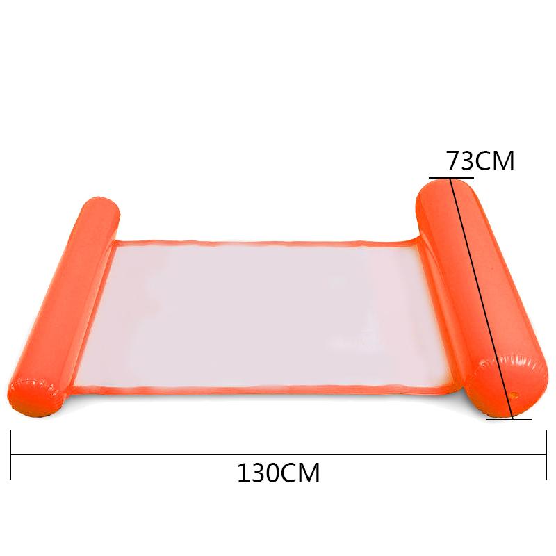 Piscine-d-039-ete-Hamac-d-039-eau-Chaise-flottante-Lit-flottant-PVC-Eau-de-baignade-SC miniature 13