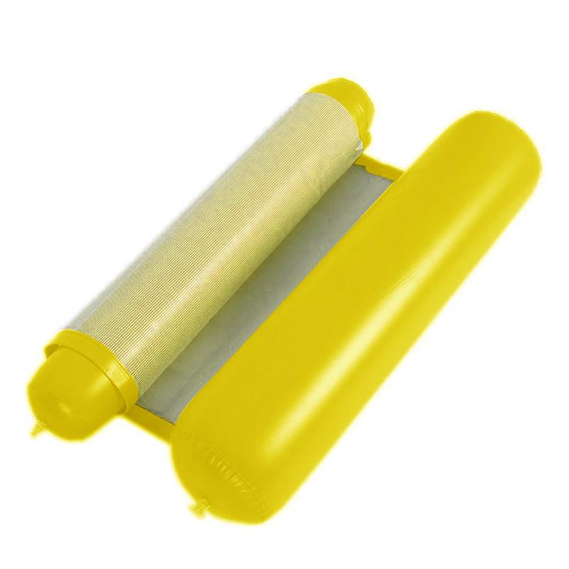 Piscine-d-039-ete-Hamac-d-039-eau-Chaise-flottante-Lit-flottant-PVC-Eau-de-baignade-SC miniature 19