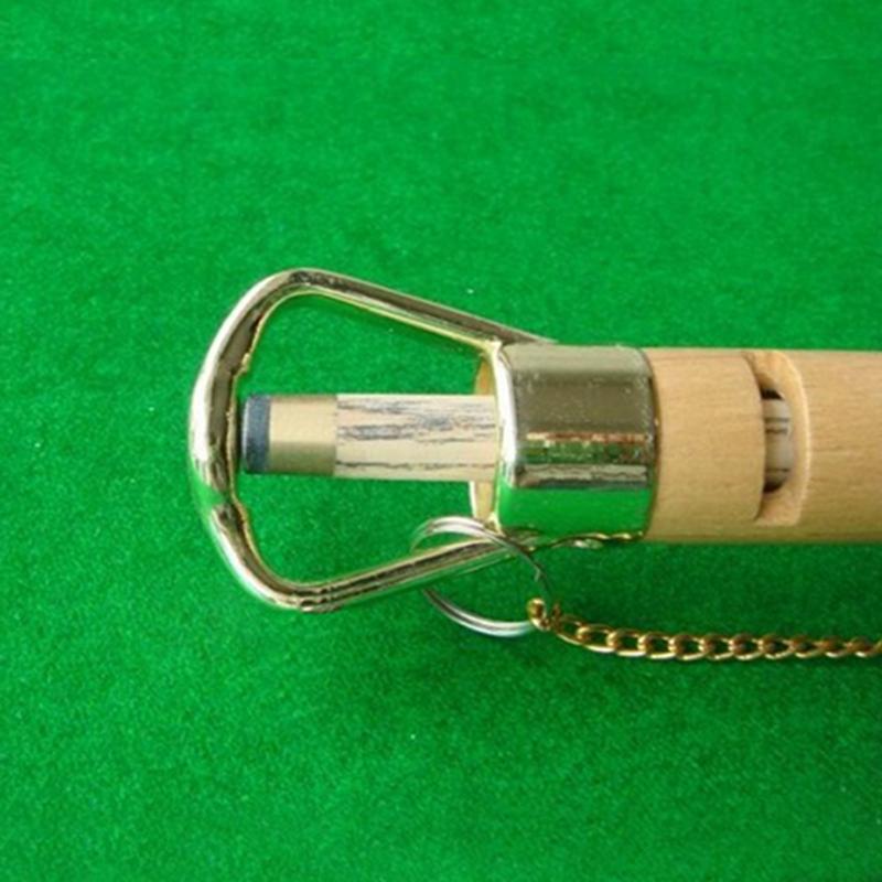 Pince-a-pointe-en-bois-Reparation-de-la-queue-de-billard-Outil-de-reparatio-K1Y7 miniature 5