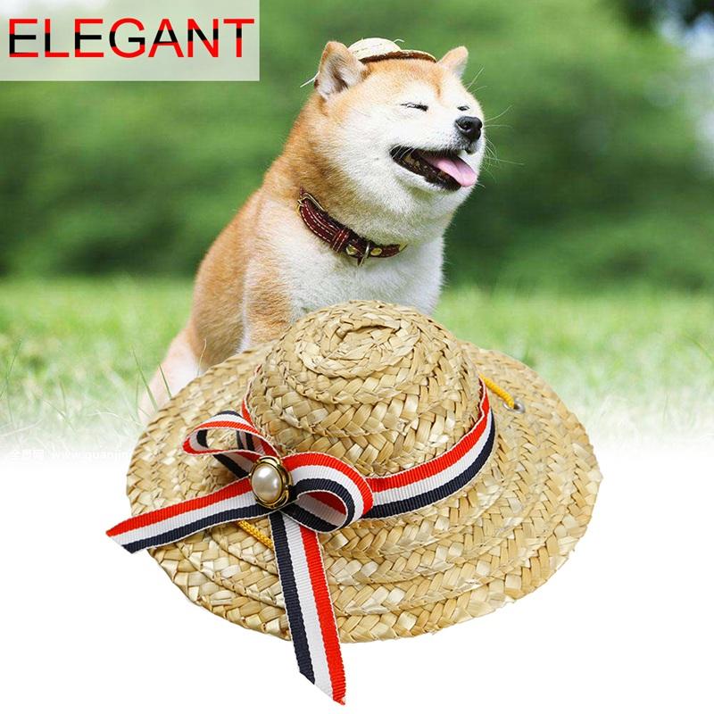 Mini sombrero de perros mascota Sombrero para el sol Sombreros de ... 6a31c41b4dd