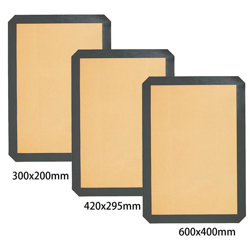1pcs-Protection-de-l-039-environnement-reutilisable-Tapis-de-cuisson-en-silicone-R5 miniature 9
