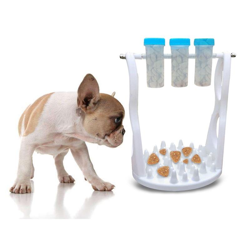 3X(Hund Langsam Feeder Spielzeug Outdoor Hund Gesunde Ernaehrung IQ Treat TZ9R1)  | Ruf zuerst