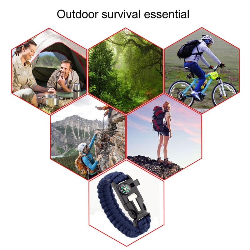 thumbnail 6 - Multifunctional Outdoor field Travel Emergency survival equipment compass I5G8