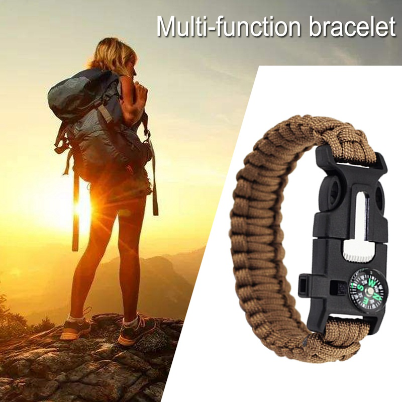 thumbnail 12 - Multifunctional Outdoor field Travel Emergency survival equipment compass I5G8