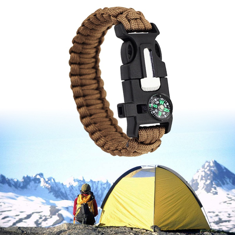 thumbnail 13 - Multifunctional Outdoor field Travel Emergency survival equipment compass I5G8