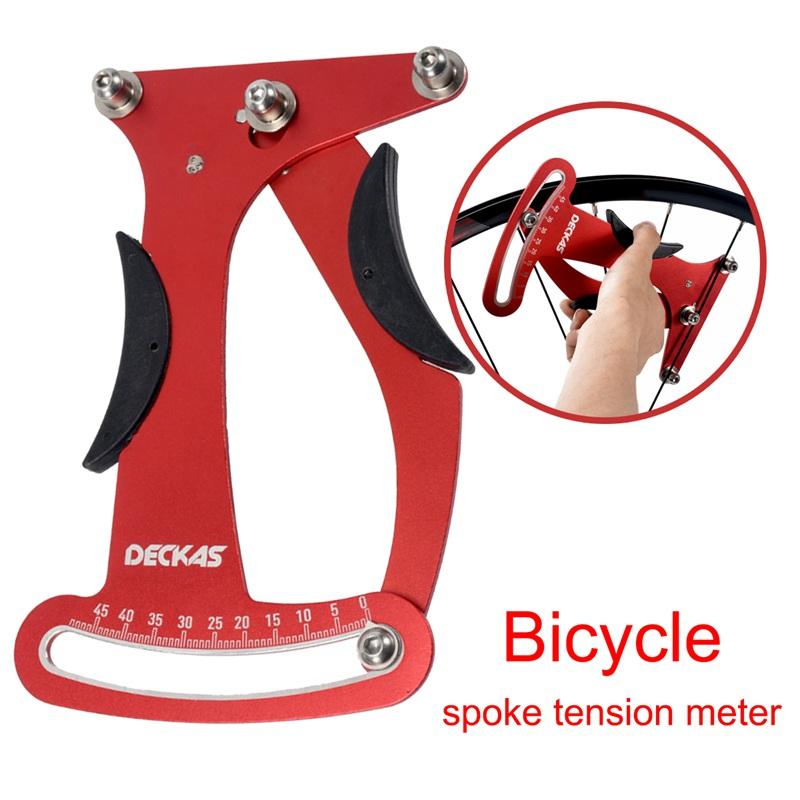 Fahrrad Rad Fahrrad Speichen Tension Messer Indikator Tensiometer Meter Attr