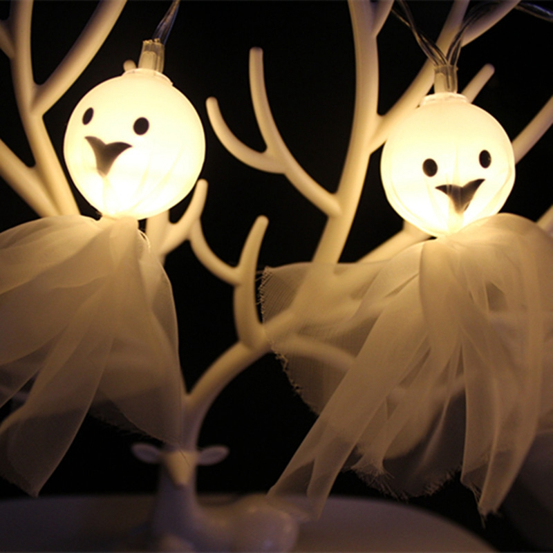 1-2M-10LED-Ghost-String-Lights-For-Halloween-Party-Decor-Halloween-String-L-D8T4 thumbnail 3