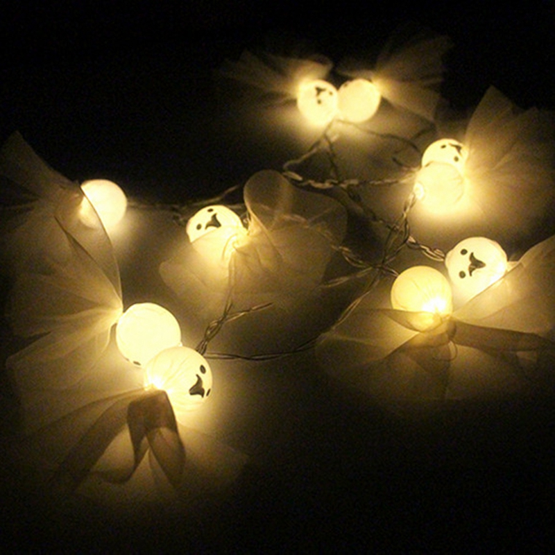 1-2M-10LED-Ghost-String-Lights-For-Halloween-Party-Decor-Halloween-String-L-D8T4 thumbnail 6