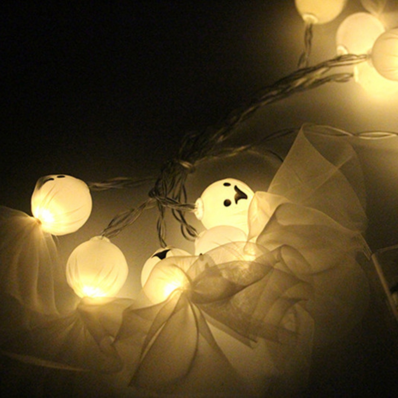 1-2M-10LED-Ghost-String-Lights-For-Halloween-Party-Decor-Halloween-String-L-D8T4 thumbnail 9