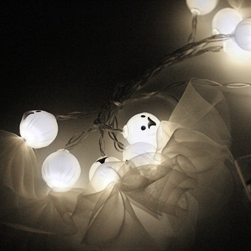 1-2M-10LED-Ghost-String-Lights-For-Halloween-Party-Decor-Halloween-String-L-D8T4 thumbnail 17