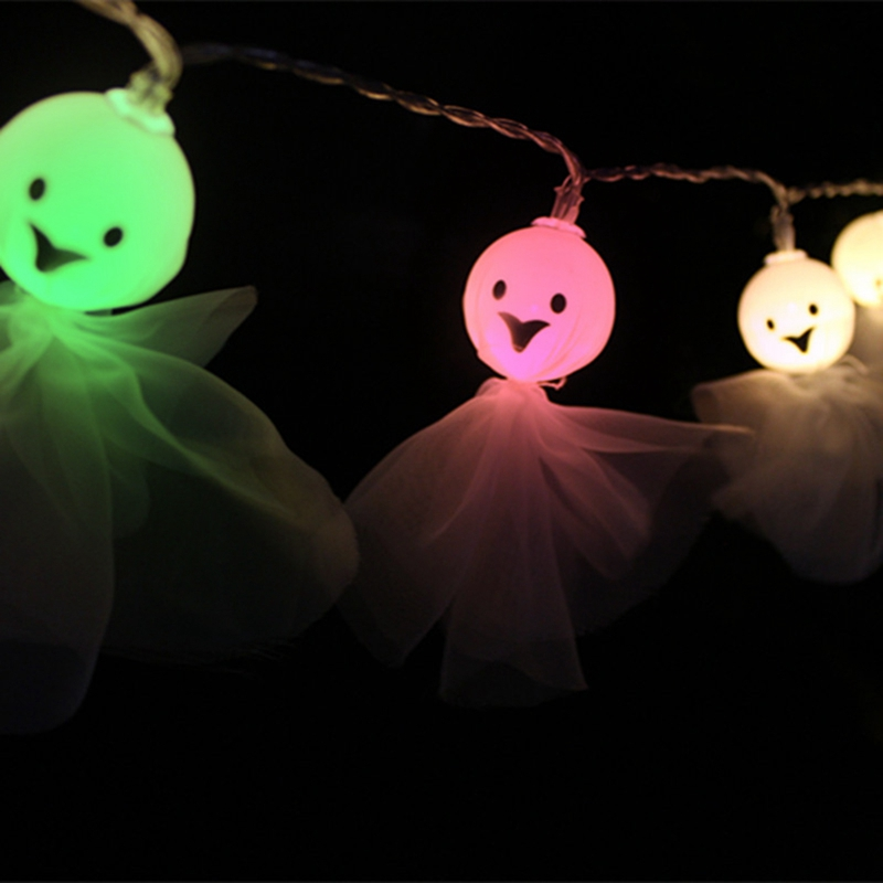 1-2M-10LED-Ghost-String-Lights-For-Halloween-Party-Decor-Halloween-String-L-D8T4 thumbnail 23