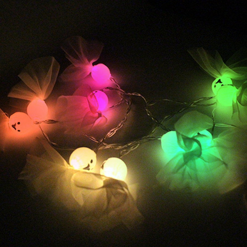 1-2M-10LED-Ghost-String-Lights-For-Halloween-Party-Decor-Halloween-String-L-D8T4 thumbnail 25