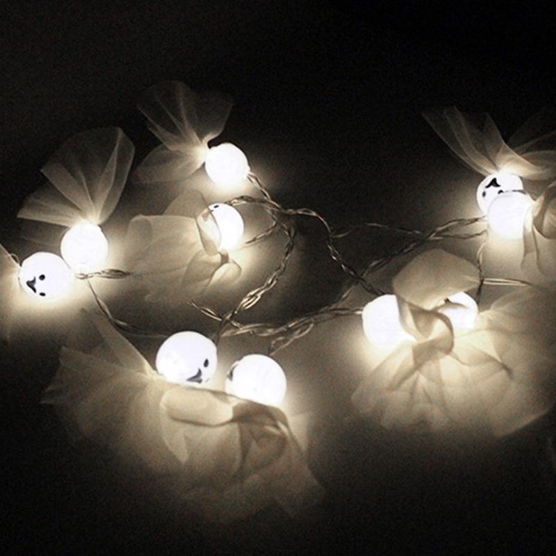 5M-40LED-Ghost-String-Lights-For-Halloween-Party-Decor-Halloween-String-Lig-U8Z1 thumbnail 7
