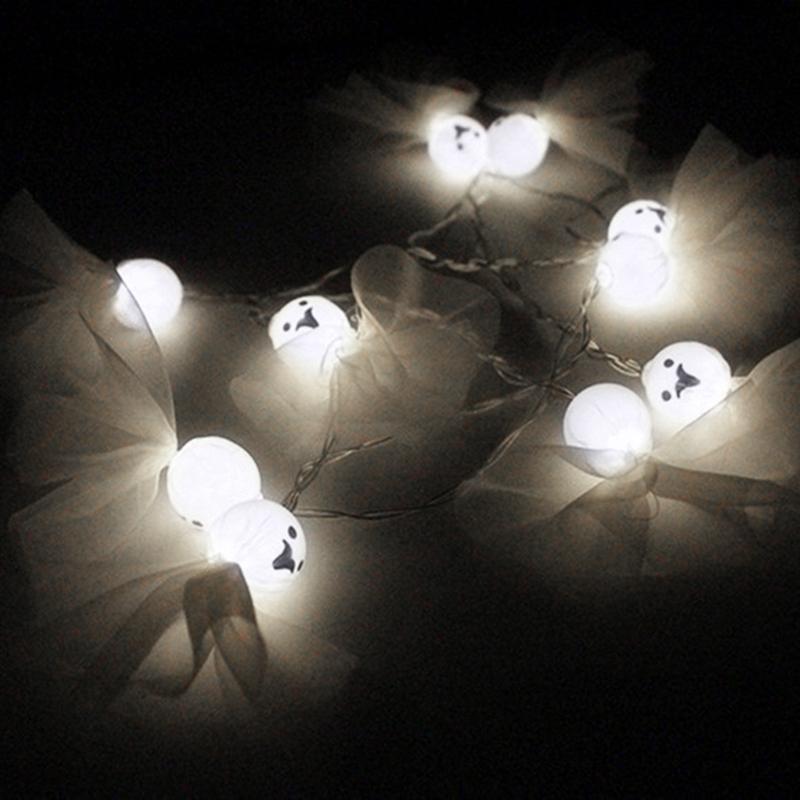 5M-40LED-Ghost-String-Lights-For-Halloween-Party-Decor-Halloween-String-Lig-U8Z1 thumbnail 8
