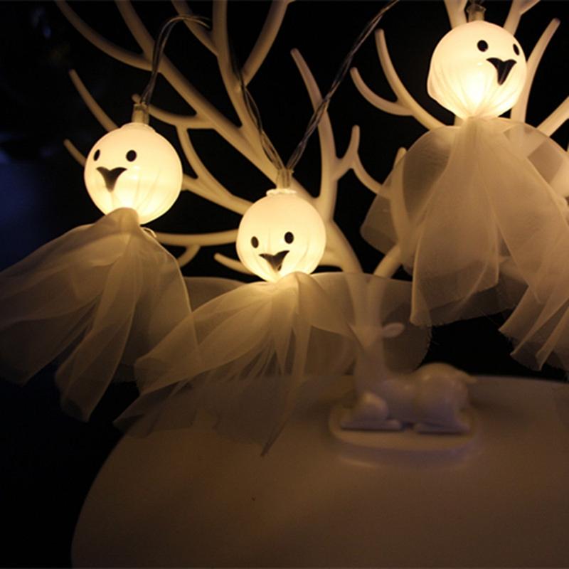 5M-40LED-Ghost-String-Lights-For-Halloween-Party-Decor-Halloween-String-Lig-U8Z1 thumbnail 14