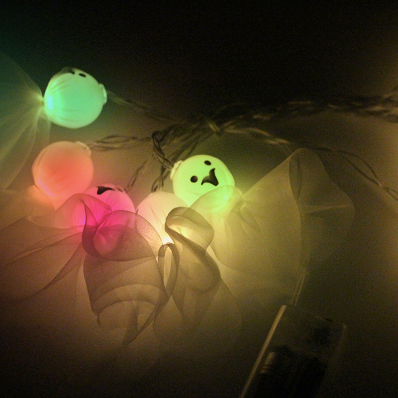 5M-40LED-Ghost-String-Lights-For-Halloween-Party-Decor-Halloween-String-Lig-U8Z1 thumbnail 23
