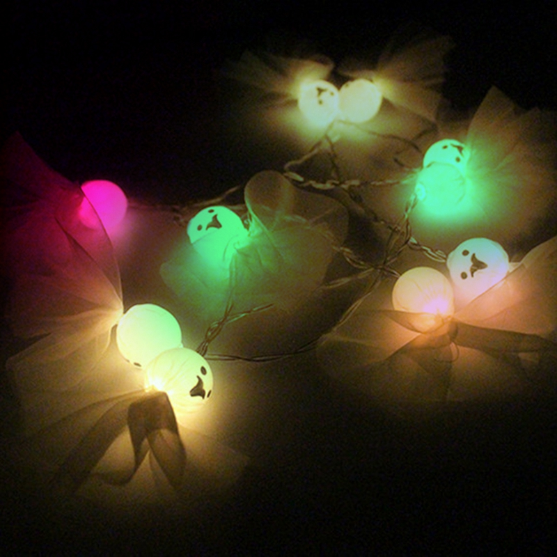 5M-40LED-Ghost-String-Lights-For-Halloween-Party-Decor-Halloween-String-Lig-U8Z1 thumbnail 26