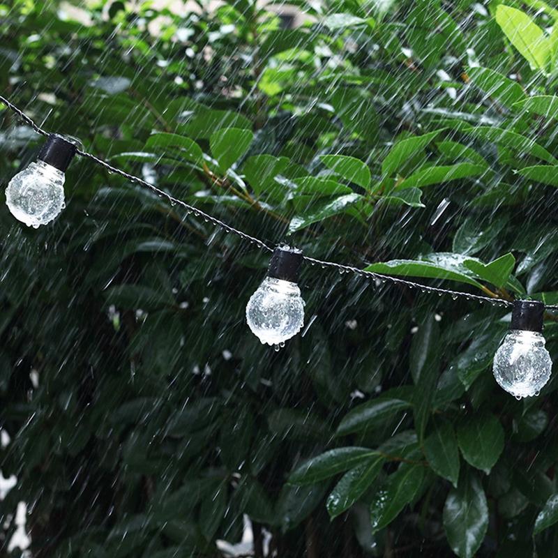 1pcs-Solar-energy-Decoration-String-Lights-6-5M-30-LED-Lights-Fairy-Light-L-M1T6 thumbnail 4