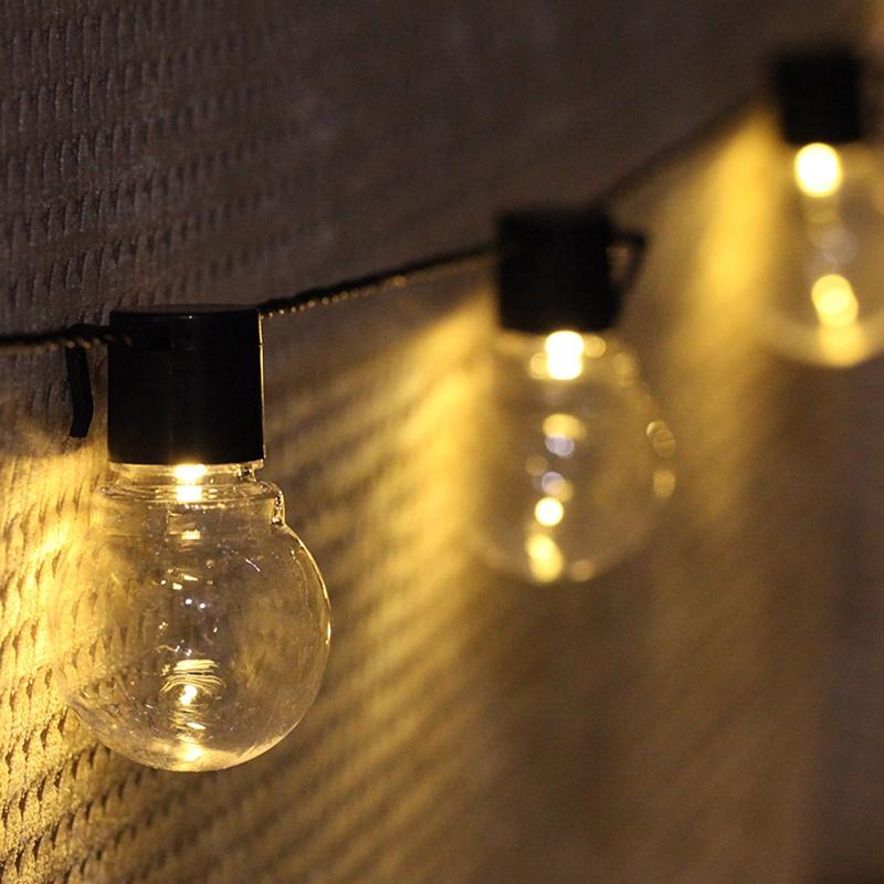 1pcs-Solar-energy-Decoration-String-Lights-6-5M-30-LED-Lights-Fairy-Light-L-M1T6 thumbnail 7