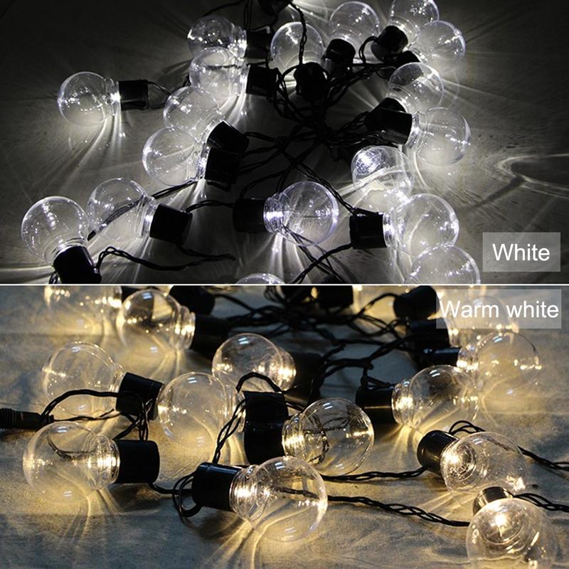 1pcs-Solar-energy-Decoration-String-Lights-6-5M-30-LED-Lights-Fairy-Light-L-M1T6 thumbnail 8